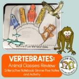 Science Interactive Notebook - Vertebrate Animals