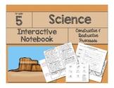Science Interactive Notebook: Constructive & Destructive Forces