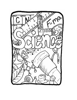 Science Interactive Notebook Cover Page