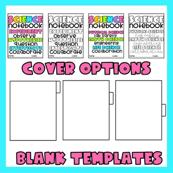 Science Interactive Notebook Dividers