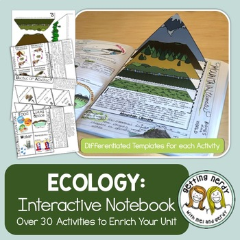 Ecosystems and Ecology Interactive Notebook