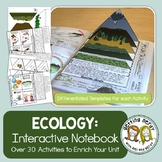 Science Interactive Notebook - Ecosystems and Ecology + Di
