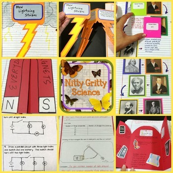 Electricity and Magnetism: Physical Science Interactive Notebook