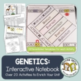 Genetics & Heredity - Interactive Notebook Activity Pack