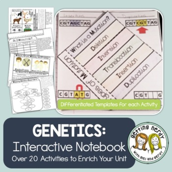 Genetics - Science Interactive Notebook Activities