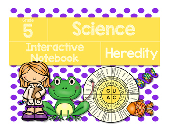 Science Interactive Notebook: Heredity