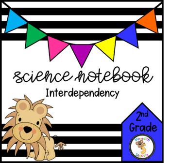 Science Interactive Notebook- Interdependency