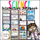 Science Interactive Notebook K-2nd: FULL YEAR OF UNITS- Remastered