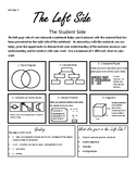 Science Interactive Notebook Left Side/Right Side Guidelines