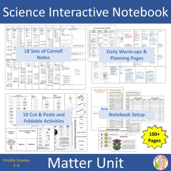 Science Interactive Notebook - Matter Unit