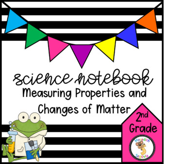 Science Interactive Notebook- Measuring Properties and Cha
