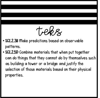 Parts Working Together (2nd Grade Notebook)