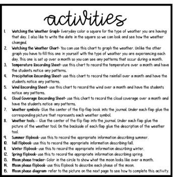 Patterns of Change (2nd Grade Notebook)
