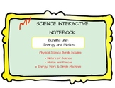 Science Interactive Notebook - Physical Science Bundle PAR
