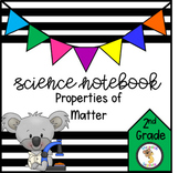 Science Interactive Notebook- Properties of Matter and Cla