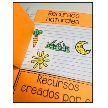 Science Interactive Notebook Spanish - Cuaderno Interactivo de Ciencias