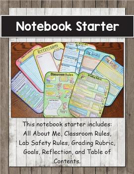 Science Interactive Notebook Starter