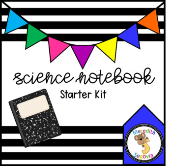 Science Interactive Notebook Starter Kit