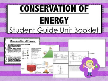Science Interactive Notebook Student Guide Booklets BUNDLE! (2nd Nine Weeks)