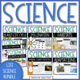 Life Science Activities and Worksheets: Seeds, Plants, Habitats, and Adaptations
