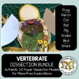 Dissection - Vertebrate Animals Bundle