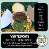 Dissection - Vertebrate Animals Bundle - Distance Learning
