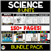 Science Interactive Notebook and Centers BUNDLE