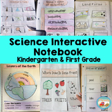 Kindergarten & First Grade Science Interactive Notebook-Printable or Digital