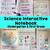 Kindergarten & First Grade Science Interactive Notebook fo