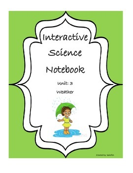 Science Interactive Notebook for Weather
