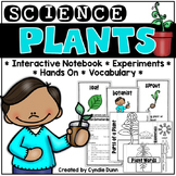 Plants Science Interactive Notebook Activities
