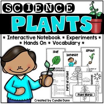Plants Science Interactive Notebook Activities
