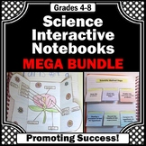 Science Interactive Notebook BUNDLE 4th 5th and 6th Grade