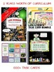 Science Interactive Notebooks - LIFE & PHYSICAL + Task Car