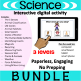 Science Interactive PDF BUNDLE {interactive digital activity}
