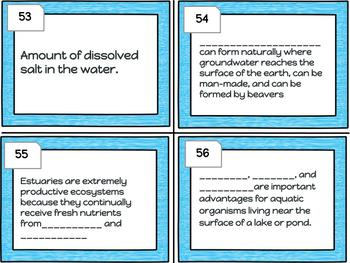 Science Interactive World Terrestrial Biome and Aquatic Ecosystem Task Cards