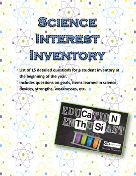 Science Interest Inventory