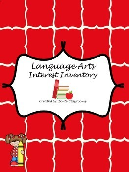 Language Arts Interest Inventory Quiz and Pre-test
