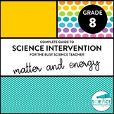 Science Intervention for the Busy Science Teacher - Matter