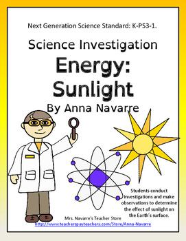 Science Investigation: Energy:Sunlight
