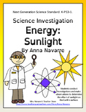 Science Investigation: Energy:Sunlight