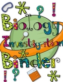 Science Investigation Notebook Starter Kit