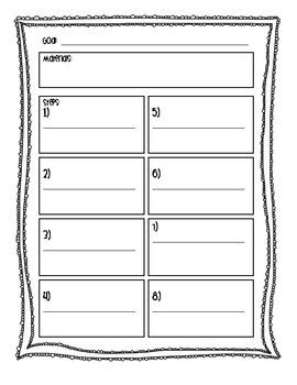 Science Investigation Planning Sheet