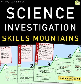 Science Investigation Skills Mountains: Grades 1 - 8