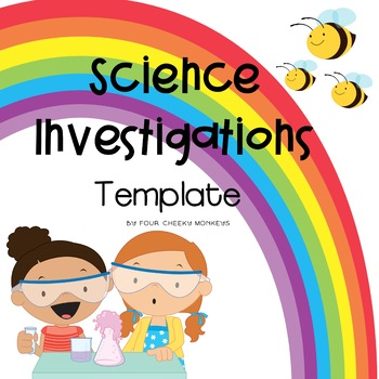Science Investigation Template For Kids