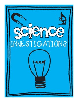 Science Investigation and Experiment Template