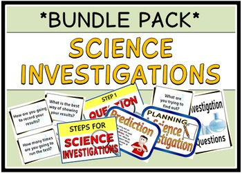 Science Investigations (BUNDLE PACK)
