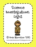 Science Investigations: Light
