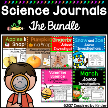 STEAM Science Journals Bundle {Apples, Pumpkins, Gingerbread, and More!}
