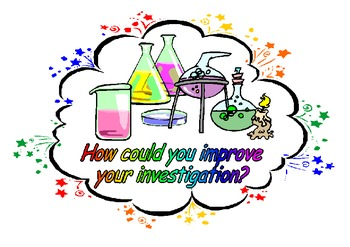Science Investigations-Set of 11 Colorful Posters